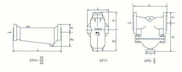 cf41-1 螺纹汽水分离器_空气净化设备_空气净化器_器