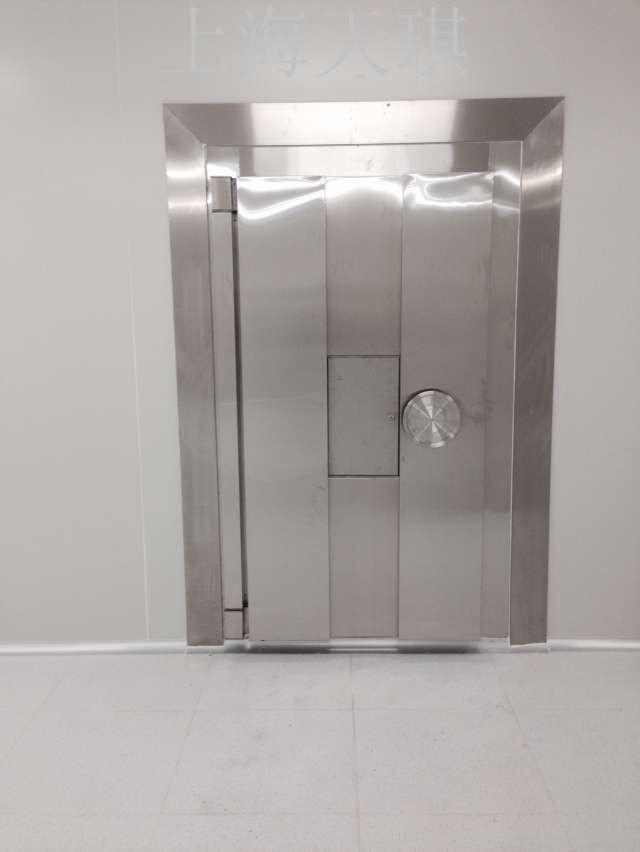 防盜安全門那里有