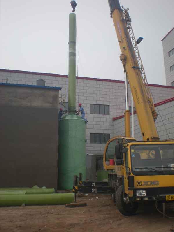 水洗玻璃钢洗涤塔是硫酸生