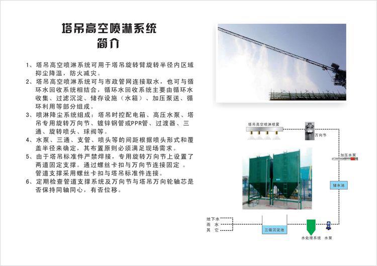 chuyu-塔吊喷淋系统