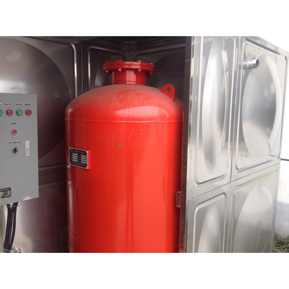 2)消防气压给水设备上的安全阀,压力表,泄水管,水位指示器等的安装图片