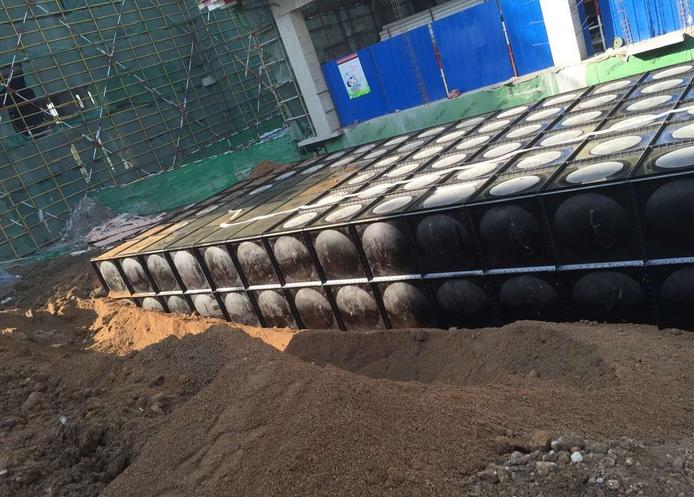 天津红桥区地埋式箱泵一体化消防泵站