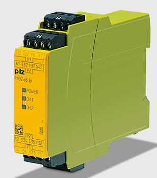pilz继电器触点扩展模块,pnoz xv1p 3/24vdc 2n/o 1n