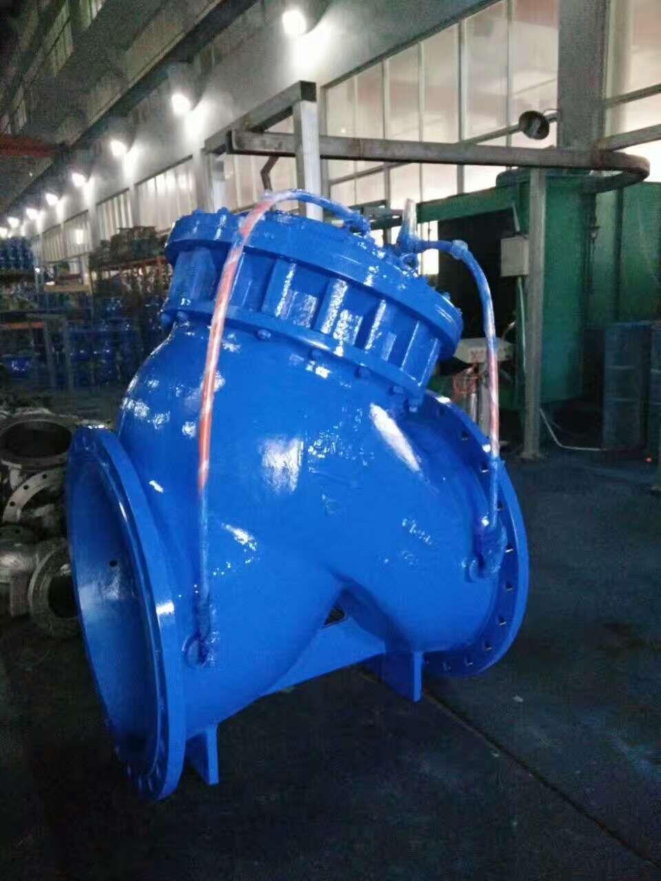 供求商机 > jd745x-多功能水泵控制阀    当水泵起动起后,水压作用于图片