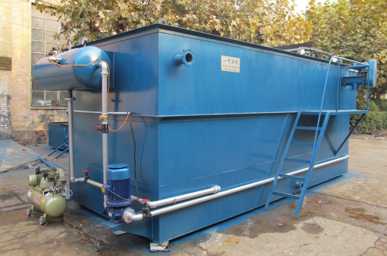 舜创环保50吨溶气气浮机产品展示