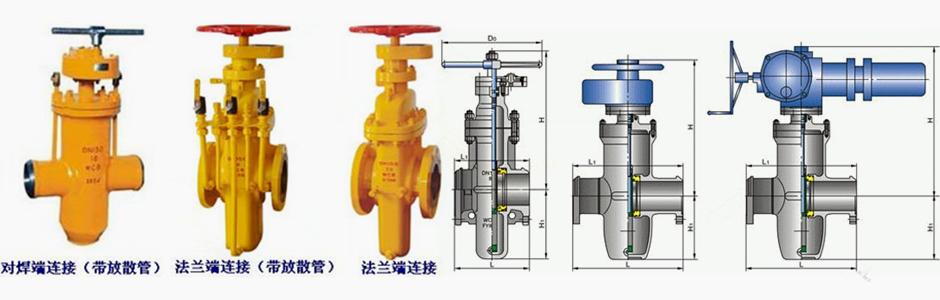 kmz67f 埋地式燃气平板闸阀结构图 埋地燃气平板闸阀产品结构特点: 1