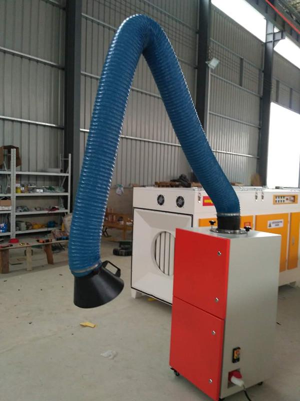 hy-280 河北厂家供应单臂焊烟除尘器 工业焊接