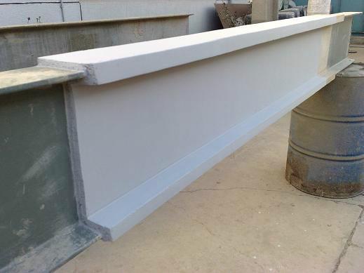 室外钢结构厚型防火涂料