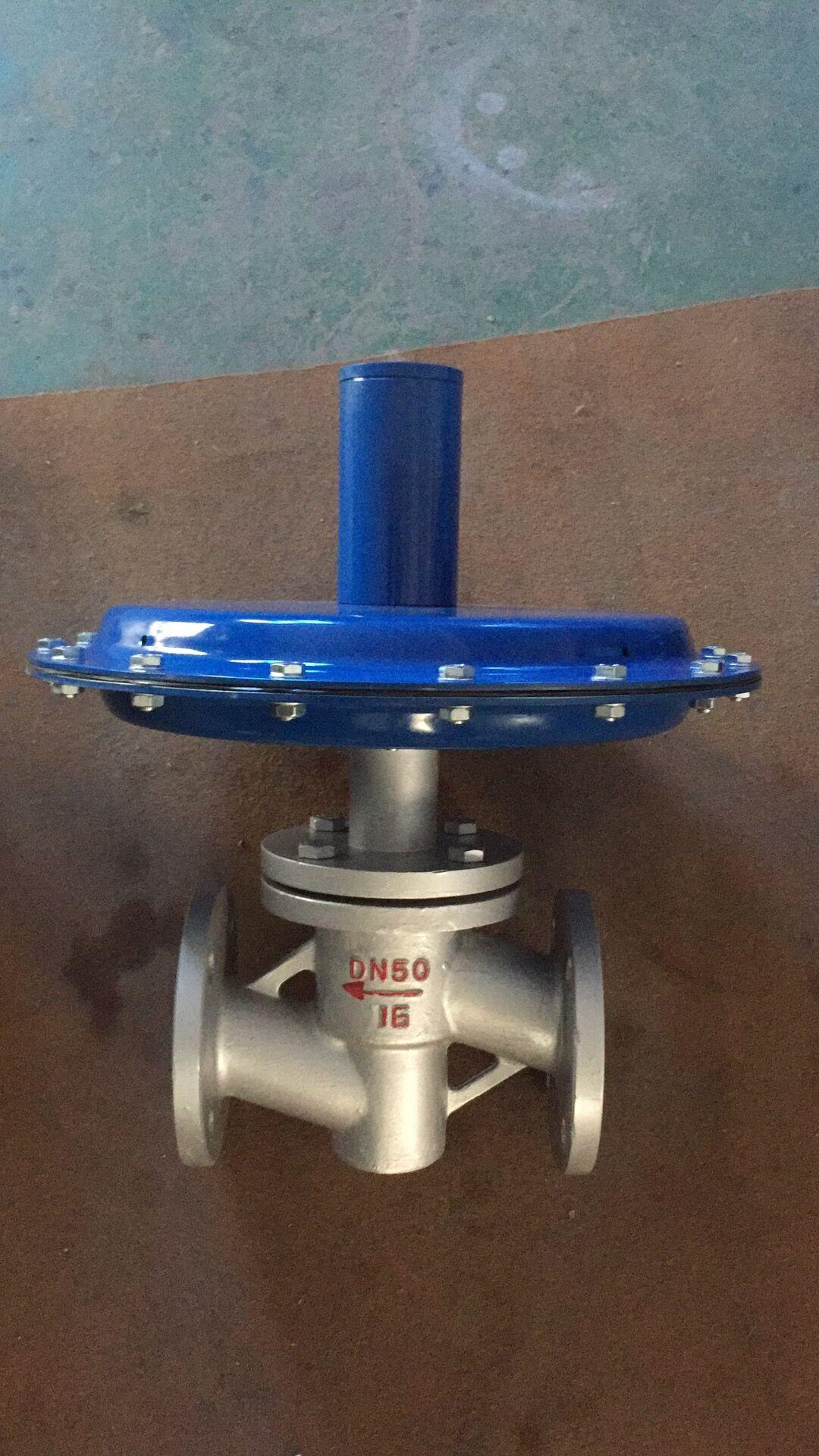 燃气减压阀可用于工业燃烧炉系统,控制两种物料,如煤气,空气流量配比图片