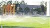 深圳盐田公园草坪绿化喷淋喷灌设备