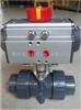 Q611S气动塑料球阀